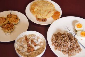 Полезный и вкусный завтрак для детей